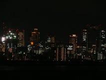 Horizonte de Osaka Fotografía de archivo libre de regalías