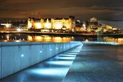 Horizonte de Oslo Imagen de archivo