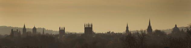 Horizonte de Oxford Fotografía de archivo libre de regalías