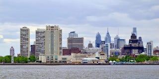 Horizonte de Philadelphia Imagen de archivo