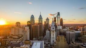 Horizonte de Philadelphia, Pennsylvania, los E.E.U.U. almacen de metraje de vídeo