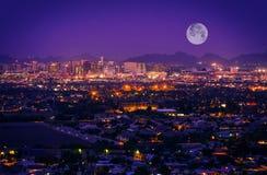 Horizonte de Phoenix Arizona Imagen de archivo libre de regalías