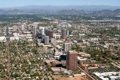 Horizonte de Phoenix del Midtown Foto de archivo libre de regalías