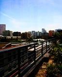 Horizonte de Portland Foto de archivo