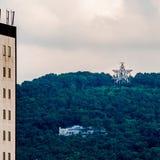 Horizonte de Roanoke Virginia City fotos de archivo