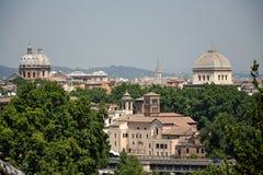 Horizonte de Roma Foto de archivo libre de regalías