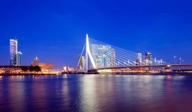 Horizonte de Rotterdam Imagen de archivo libre de regalías
