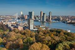 Horizonte de Rotterdam Imagen de archivo