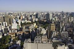 Horizonte de São Pablo - el Brasil Imagen de archivo libre de regalías