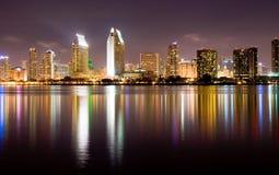 Horizonte de San Diego Fotos de archivo libres de regalías