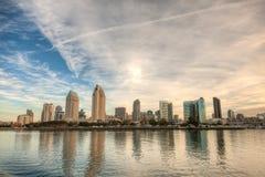 Horizonte de San Diego Fotos de archivo