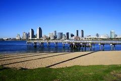 Horizonte de San Diego Imagenes de archivo