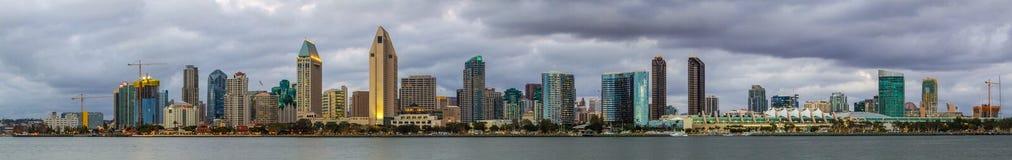 Horizonte de San Diego Imagen de archivo libre de regalías