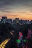 Horizonte de San Diego Imagen de archivo