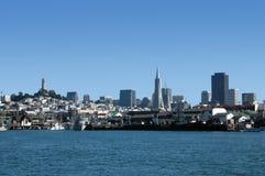 Horizonte de San Francisco imagen de archivo libre de regalías