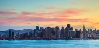 Horizonte de San Francisco Foto de archivo