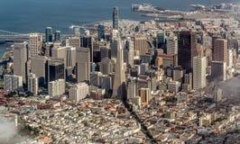Horizonte de San Francisco Imagen de archivo