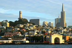 Horizonte de San Francisco Imagenes de archivo