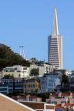 Horizonte de San Francisco, California, los E fotografía de archivo libre de regalías