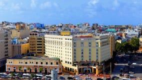 Horizonte de San Juan Imagen de archivo libre de regalías