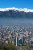 Horizonte de Santiago Imagen de archivo