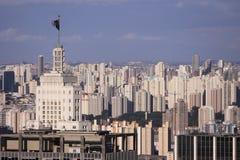 Horizonte de Sao Paulo Imagen de archivo