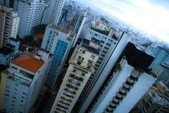 Horizonte de Sao Paulo Fotografía de archivo libre de regalías