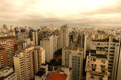 Horizonte de Sao Paulo Fotos de archivo libres de regalías