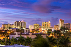 Horizonte de Sarasota, la Florida Fotografía de archivo