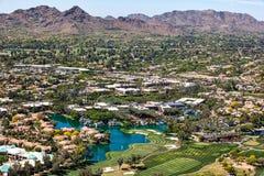 Horizonte de Scottsdale Imagen de archivo libre de regalías