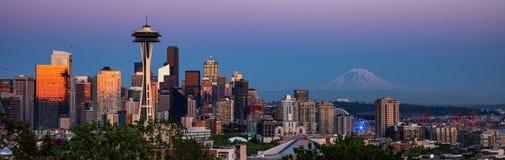 Horizonte de Seattle foto de archivo libre de regalías