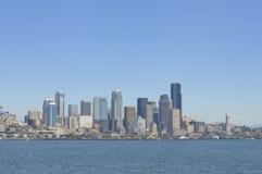 Horizonte de Seattle Imágenes de archivo libres de regalías