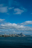 Horizonte de Seattle Fotografía de archivo libre de regalías