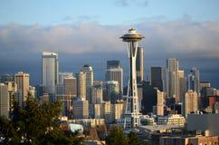 Horizonte de Seattle Foto de archivo