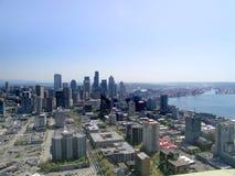 Horizonte de Seattle Imagenes de archivo