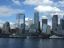 Horizonte de Seattle Imagen de archivo