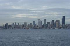 Horizonte de Seattle de Seattle del oeste Imágenes de archivo libres de regalías