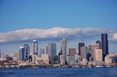 Horizonte de Seattle, Washington Fotografía de archivo libre de regalías