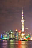 Horizonte de Shangai Foto de archivo