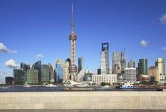 Horizonte de Shangai Fotografía de archivo libre de regalías