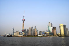 Horizonte de Shangai foto de archivo libre de regalías