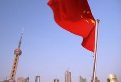 Horizonte de Shangai Imagen de archivo