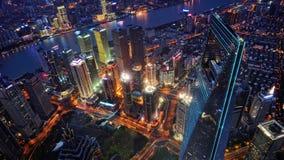 Horizonte de Shangai (China) Imágenes de archivo libres de regalías
