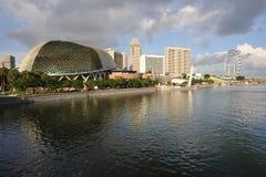 Horizonte de Singapur Fotografía de archivo