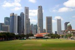 Horizonte de Singapur Foto de archivo libre de regalías