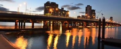 Horizonte de Southport - Gold Coast Queensland Australia Fotos de archivo