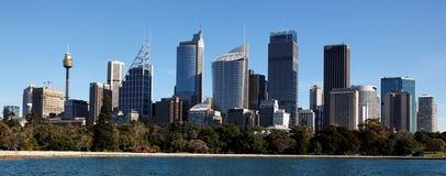 Horizonte de Sydney imagenes de archivo