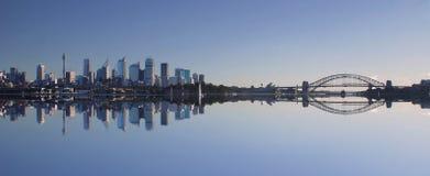 Horizonte de Sydney Imágenes de archivo libres de regalías