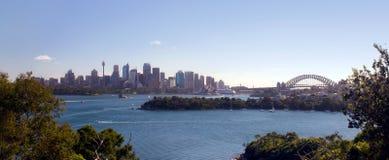 Horizonte de Sydney Foto de archivo libre de regalías