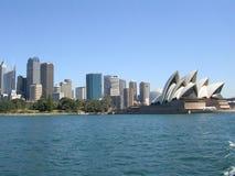 Horizonte de Sydney, Australia y Foto de archivo libre de regalías